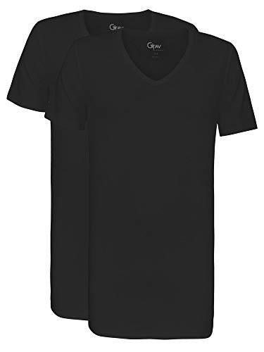 Girav heren Long Fit Hong Kong T-shirt, pak van 2