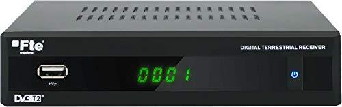 Receptor digital terrestre Fte Max T 220 HD