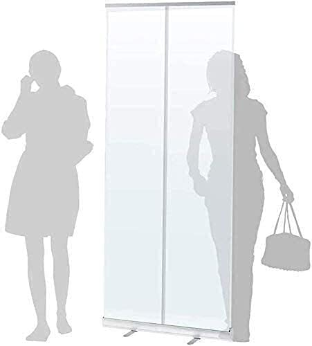 TOPNIU Divisores de aula transparente enrollable para estornudos con bolsa de transporte (tamaño 600 x 1600 mm)