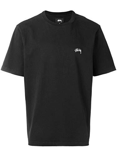 Stussy Luxury Fashion Herren 1140137BLACK Schwarz Baumwolle T-Shirt   Jahreszeit Permanent