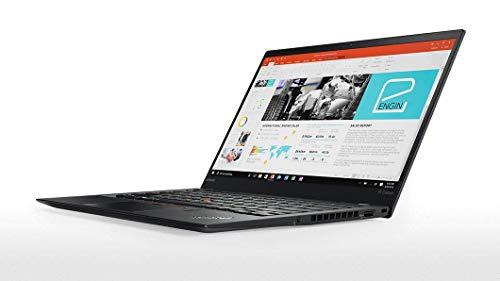 2018 Lenovo ThinkPad X1 Carbon (5th Gen) - Windows 10 Pro - Intel Core i7-6500U, 256GB NVMe-PCIe SSD, 8GB RAM, 14' FHD IPS (1920x1080) Display, Fingerprint Reader, (Classic Black) (Renewed)