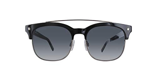 DSQUARED2 Dq0207-01B-Schwarz Gafas de sol, Negro (Schwarz), 53.0 Unisex Adulto