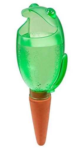 Scheurich Wasserspeicher Wasserspender Froggy XL, Green 470 ml, Höhe 30 cm (1)