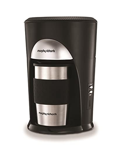 Morphy Richards Coffee On The Go Filter Coffee Machine 162740 Black and...