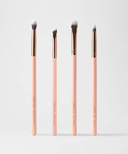 Luxie Smokey Eye Brush Set - Rose Gold