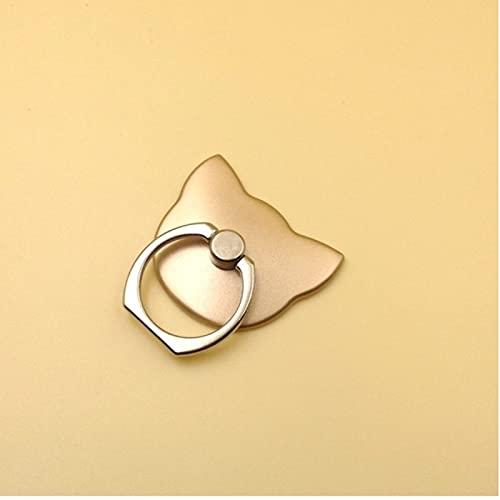 Soporte del teléfono del anillo del dedo Soporte del teléfono del Sm para el soporte móvil del zócalo del gato de la célula, 4*4Cm