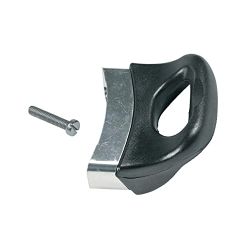 Europart 10033701 UNIVERSAL kastrull handtag handtag handtag sida svart 77 x 70 x 45 mm för kastrull panna tryckkokare