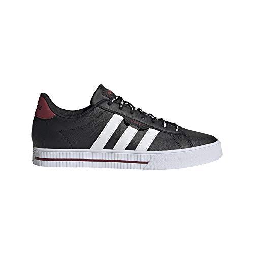 adidas Daily 3.0, Zapatillas de Deporte para Hombre, NEGBÁS/FTWBLA/ROJLEG, 39.33 EU