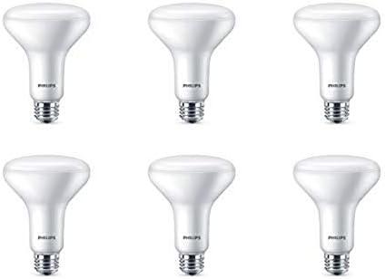 Philips LED Dimmable BR30 Light Bulb 650 Lumen 5000 Kelvin 7 2 Watt E26 Base Daylight 6 Pack product image