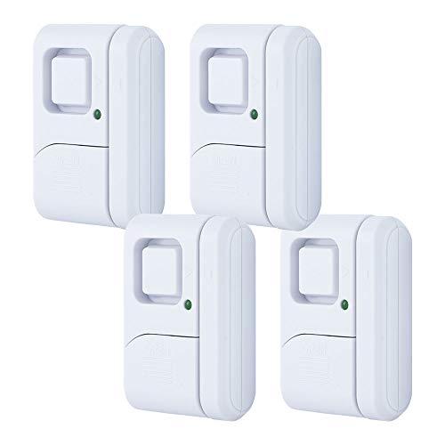 GE Personal Security Window/Door, 4-Pack, DIY Protection, ...