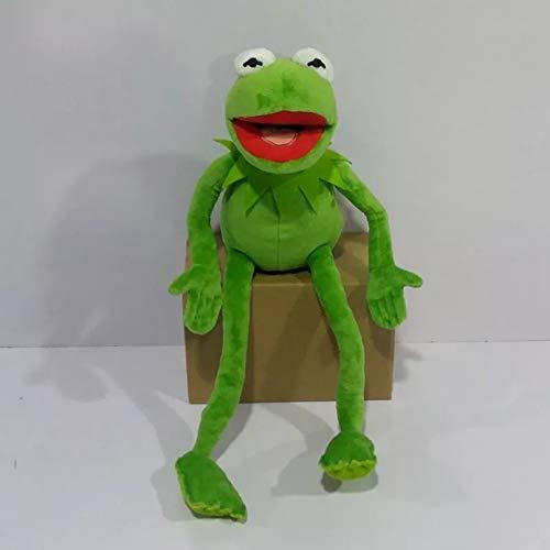 ZHQIC Kermit The Frog The Muppet Show Juguetes de Felpa de 16 Pulgadas Peluches Peluches Animal Doll Cartoon The Muppets Peluches Animales Peluches Juguetes para niños Regalo de cumpleaños