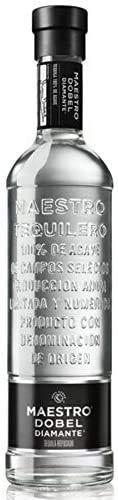 Don Julio Cristalino marca MAESTRO TEQUILERO