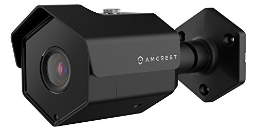 Amcrest UltraHD 5MP POE Bullet IP Security Camera, Black