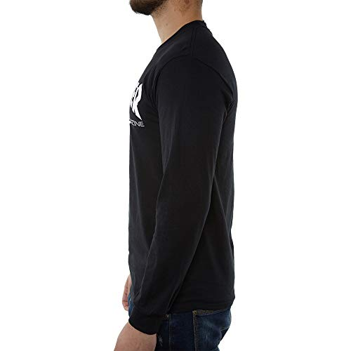 Thrasher Flame T-Shirt (Small, Charcoal)