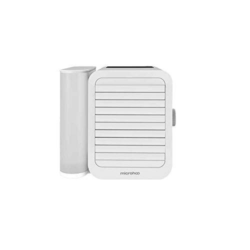 Microhoo Personal Mini Aire Acondicionado Ventilador de Escritorio, Pantalla táctil Ajustable de 99 velocidades Ahorro de energía y Aire Acondicionado Micro de bajo Ruido