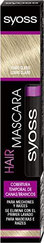 Syoss - syoss temporary coverage hair mascara light blond 16ml