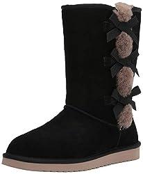 powerful Koolaburra by UGG Victoria Tall Women's Fashion Boots, Black, 7 US