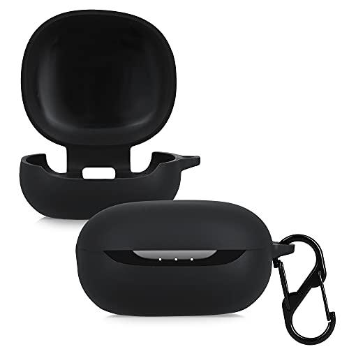 kwmobile Schutzhülle kompatibel mit Anker So&core Life P3 - Hülle Kopfhörer - Silikon Hülle Cover Schwarz