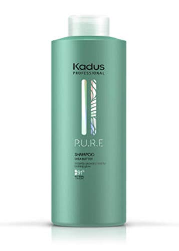 Kadus Professional - P.U.R.E. Sheabutter shampoo 1000 ml - geen parabenen siliconen en kunstmatige kleurstoffen