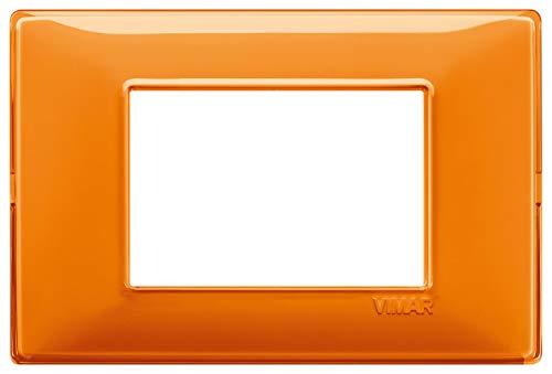 Vimar Placca 3 m, Reflex Arancio