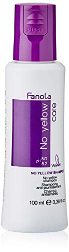 Fanola No Yellow Shampoo, 100 ml Travel Size