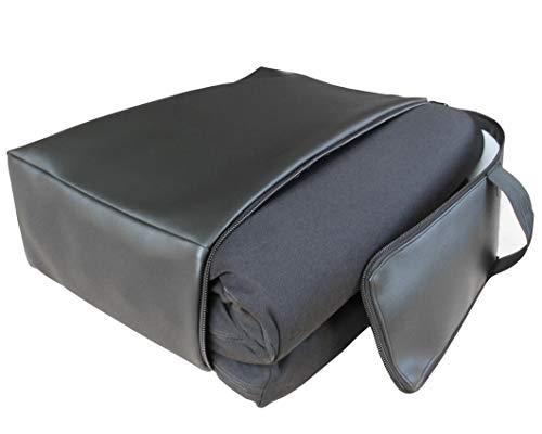 Auflage für Business Class Sitze aus 100% Viscoschaum inkl. Kunstledertasche