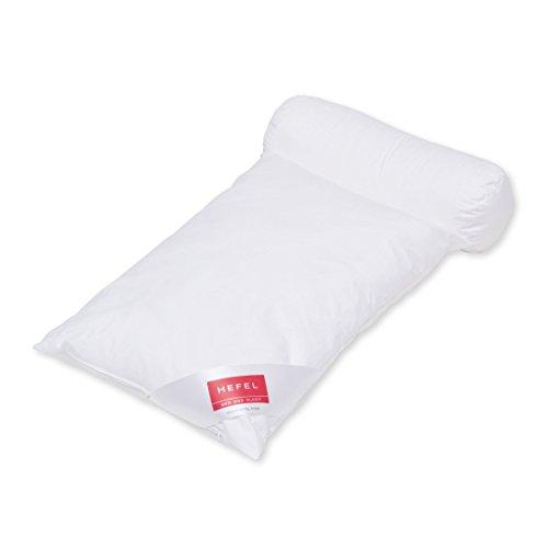 HEFEL Lesekissen, Polyester, Weiß, 40x 80x 10cm