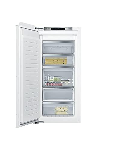 Siemens GI41NACE0 iQ500 Einbau-Gefrierschrank / E / 206 kWh/Jahr / 130 l / noFrost / Big Box / softClosing Tür