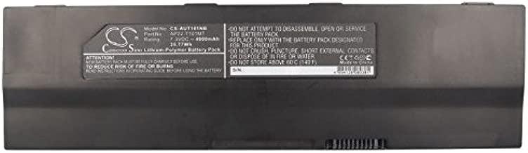 Cameron Sino 4900mAh/35.77Wh Li-Polymer High-Capacity Replacement Batteries for Asus Eee PC T101, Eee PC T101MT-EU17-BK , fits Asus AP22-T101MT