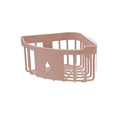Geen Punch Bad Planken, 2 STKS Plastic hoek opslag rack keuken organizer plank badkamer hoek toiletartikelen…
