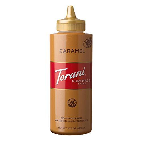 Torani Puremade Caramel Sauce, 16.5 Ounces