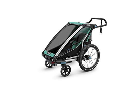 Thule Chariot Lite1, Bluegrass, Rimorchio Bicicletta Unisex bambino, Taglia unica