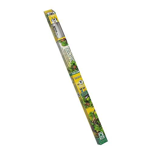 JBL 61611 Solar-Leuchtstoffröhre Sonnenlichtröhre für Aquarienpflanzen, 18 W, 590 mm, Solar Tropic Ultra T8