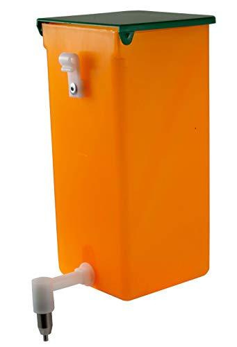 Nippeltränke orange 1 Liter - Tränke Kunststoff-Halterung Licht + Vitaminschutz