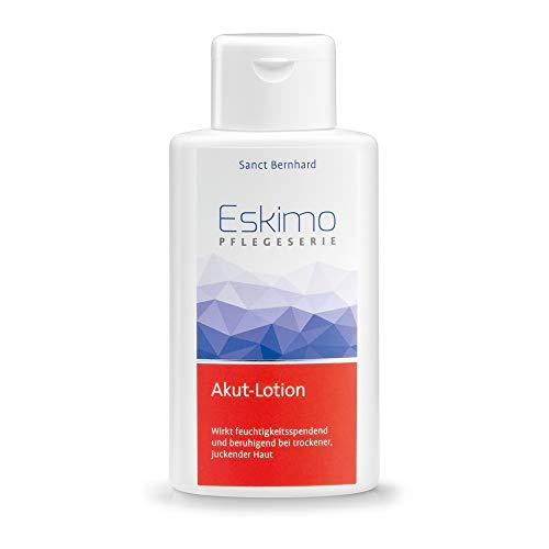 Sanct Bernhard Eskimo Akut-Lotion für trockene, juckende Haut mit Polidocanol, Urea, Echiumöl, Sonnenblumenöl 250 ml