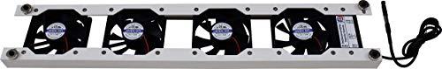 Ekospal 4 Lüfter (50cm) - Heizkörper Verstärker für 2-Platten Heizkörper ab 50cm