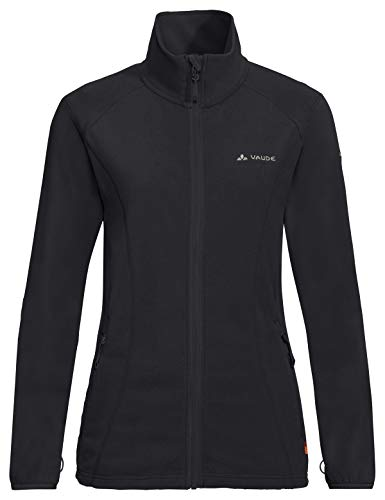 VAUDE Damen Women's Sunbury Jacket, leichte Fleecejacke Jacke, Black, 42