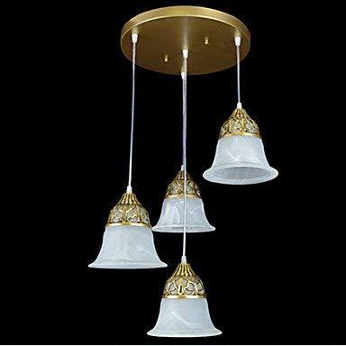 Moderne kroonluchter plafondlampen hanger traditioneel klassiek oud antiek hutte-bronzen metalen kroonluchter woonkamer slaapkamer eetkamer kantoor 3C Ce FCC-buizen voor woonkamer slaapkamer,