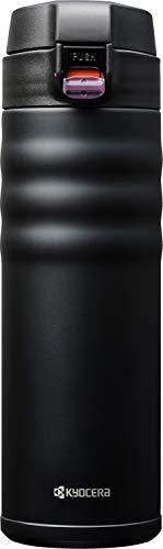 Garrafa Térmica Flip Top, Kyocera, Preto