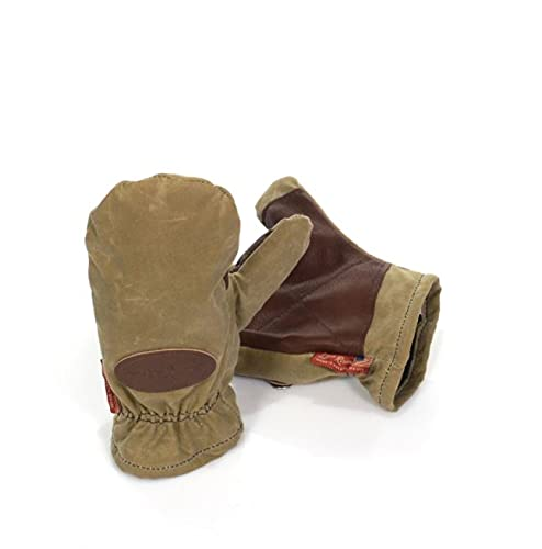 Frost River Northen Pacific Mittens Waxed Canvas, Field Tan, X-Large