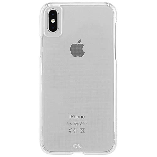 Case-Mate - iPhone XS Max Case - BARELY THERE - iPhone 6.5 - Clear