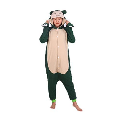 Disfraz Pijama de una Pieza para Adultos Pijamas de Navidad Mono Halloween Mujer Hombre Unisex Cosplay