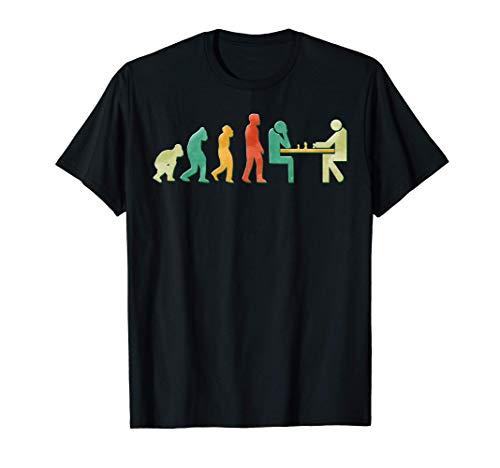desarrollo de la evolución del ajedrez jugador de ajedrez Camiseta