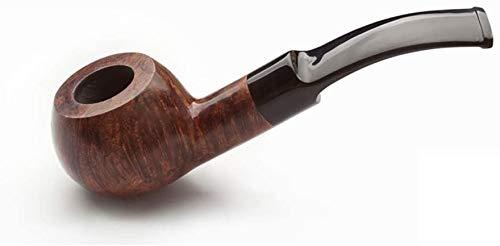 WZX Pipa de Tabaco de Madera de Brezo, Juego de Fumar de Pipa de Tabaco de Filtro portátil, Enviar Accesorios de Pipa