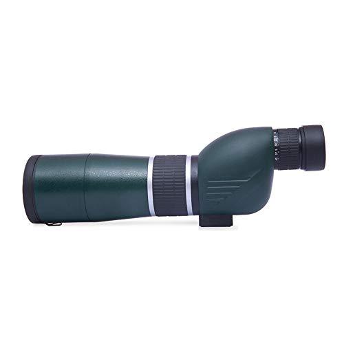 Monoculairs 15-45 * 60mm Spotting Scope avec Trépied, 60mm Large Objectif Objectif Faible Niveau De Lumière Vision Nocturne HD Haute Définition, pour Cible De Tir (Taille : Right Angle+Tripod)