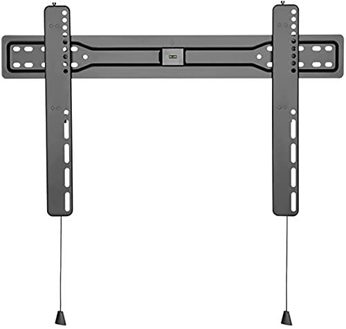 Soporte para TV Soporte de montaje en pared para TV de perfil bajo de 37 '-80' Soporte universal para TV de pared fijo Soporte para TV extensible con cable magnético, admite soportes de montaje para T