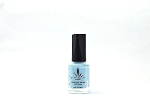 Vivien Kondor Henna Halal Permeable Nagellack Ha37 Sky Blue, 11 ml