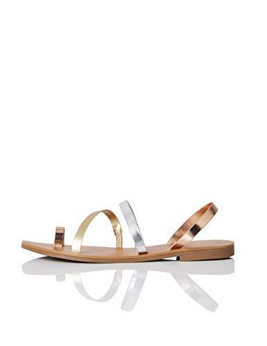 Marca Amazon - find. #_Innis-s-11 - Sandalias de Gladiador Mujer