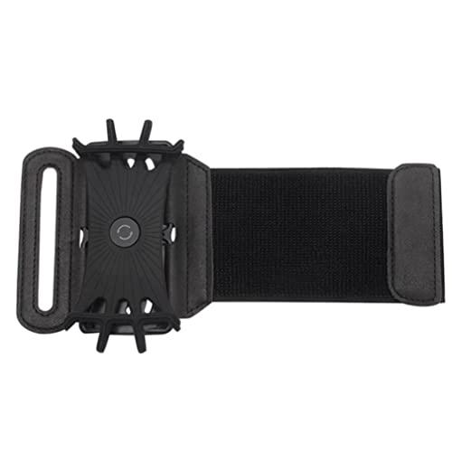 Pulsera telefónica de pulsera 180 grados Rotatable Running Deportes Soporte Soporte desmontable Brazalete, Tenedor deportivo