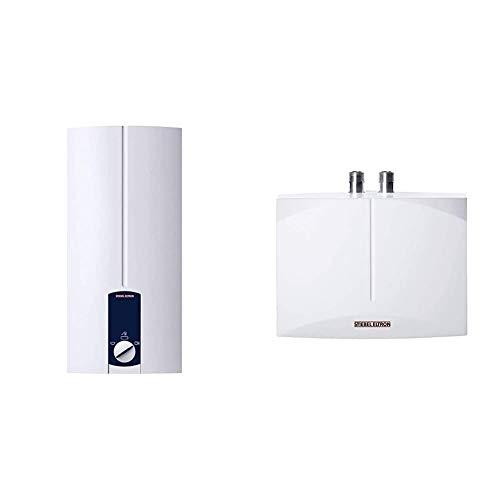 STIEBEL ELTRON elektronisch gesteuerter Durchlauferhitzer DHB 21 ST, 21 kW, druckfest, 3 Anwendungssymbole & DEM 3...